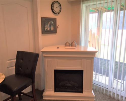 117 Neskowin Resort Fireplace